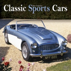 Classic Sports Cars Wall Calendar 2021 by Avonside