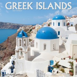 Greek Islands Wall Calendar 2021 by Avonside