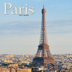 Paris Wall Calendar 2021 by Avonside