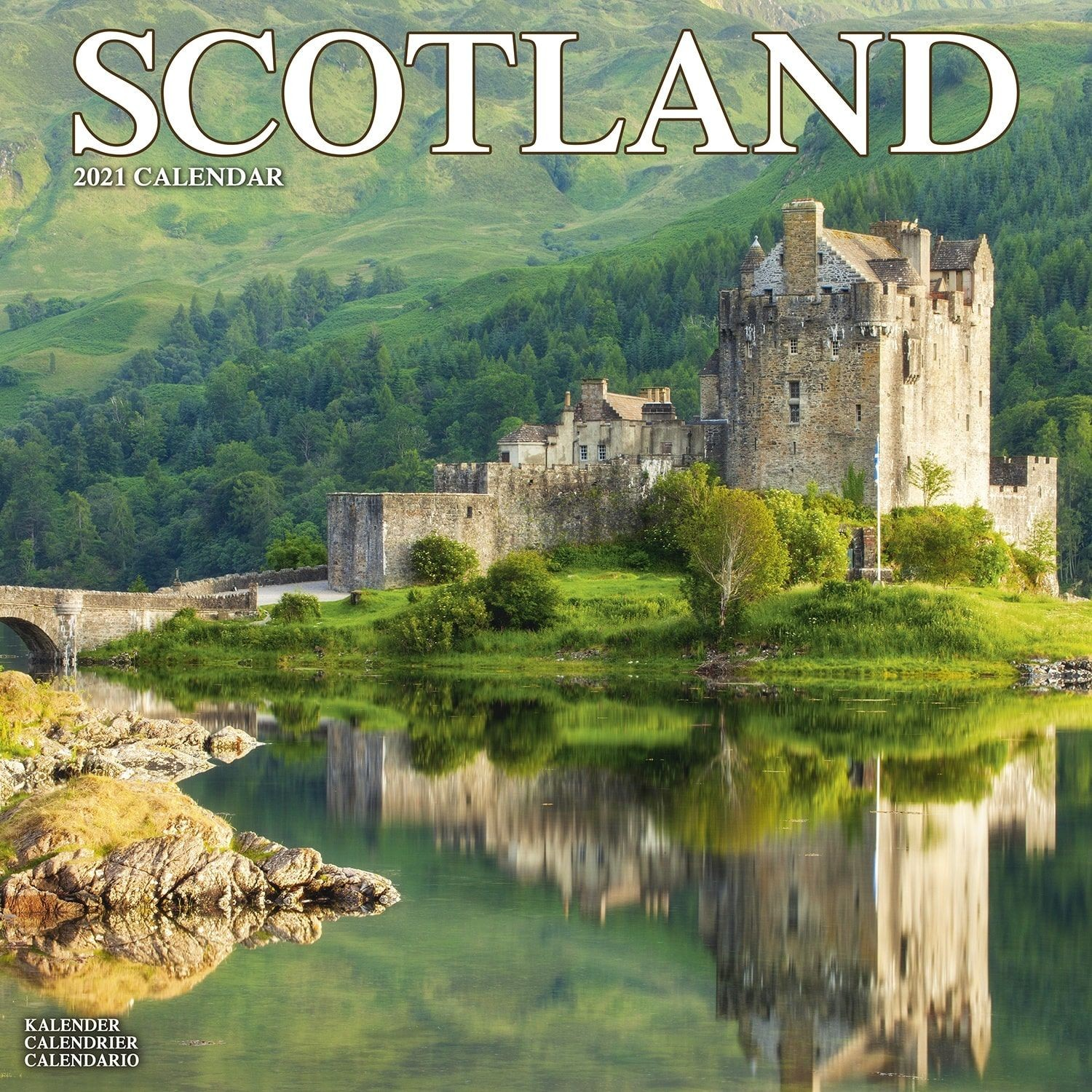 Scotland Wall Calendar 2021 by Avonside
