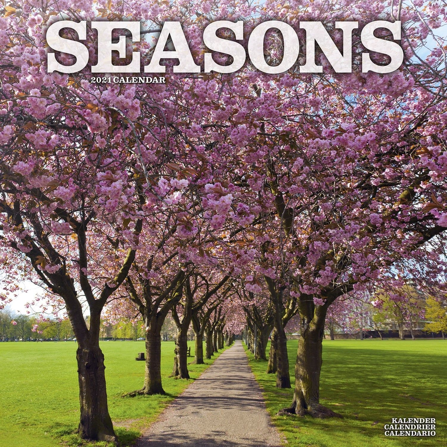 Seasons Wall Calendar 2021 by Avonside