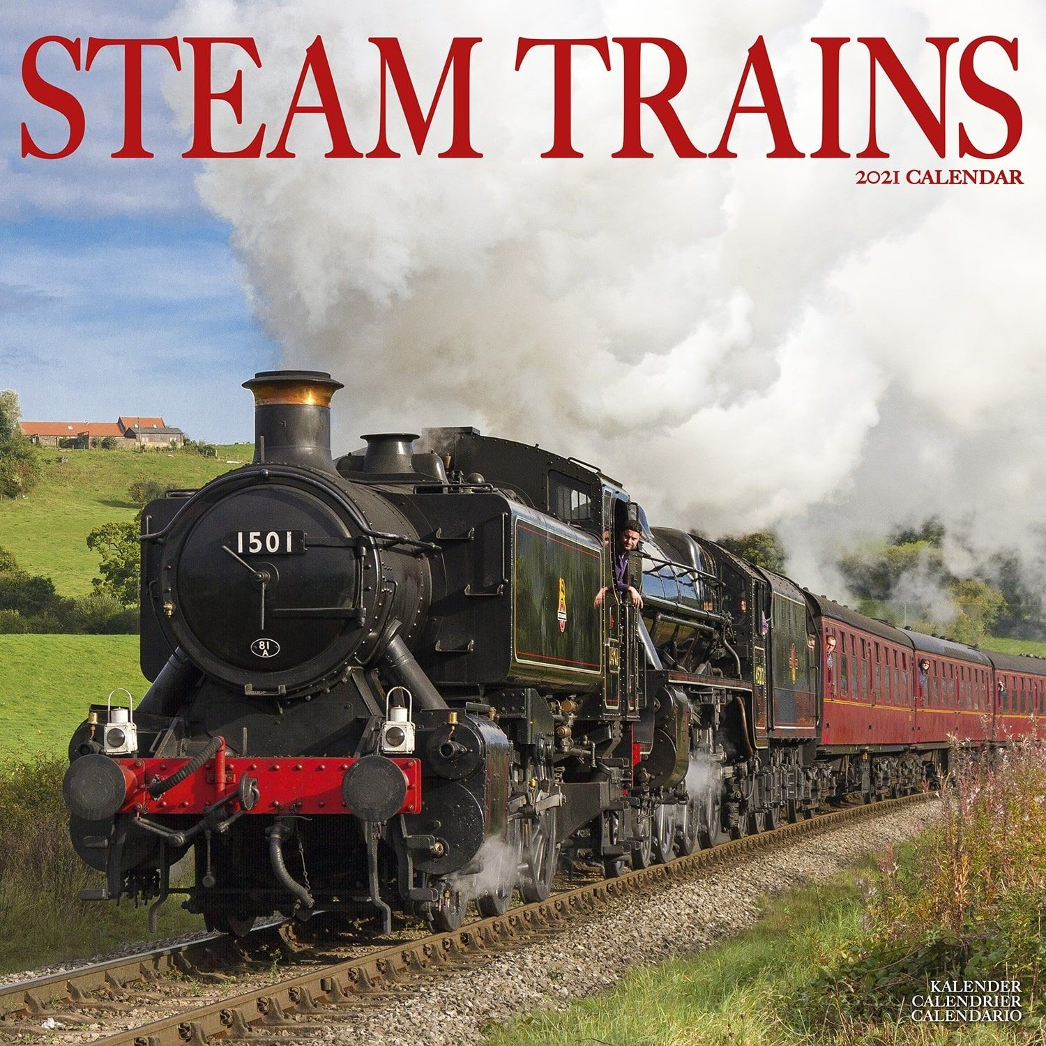 Steam Trains Wall Calendar 2021 by Avonside