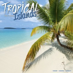 Tropical Islands Wall Calendar 2021 by Avonside