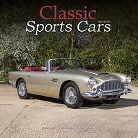 Classic Sports Cars Wall Calendar 2020