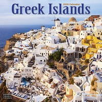 Greek Islands Wall Calendar 2020