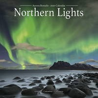 Northern Lights Wall Calendar 2020