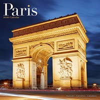 Paris Wall Calendar 2020
