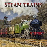Steam Trains Wall Calendar 2020