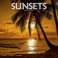 Sunsets Wall Calendar 2020