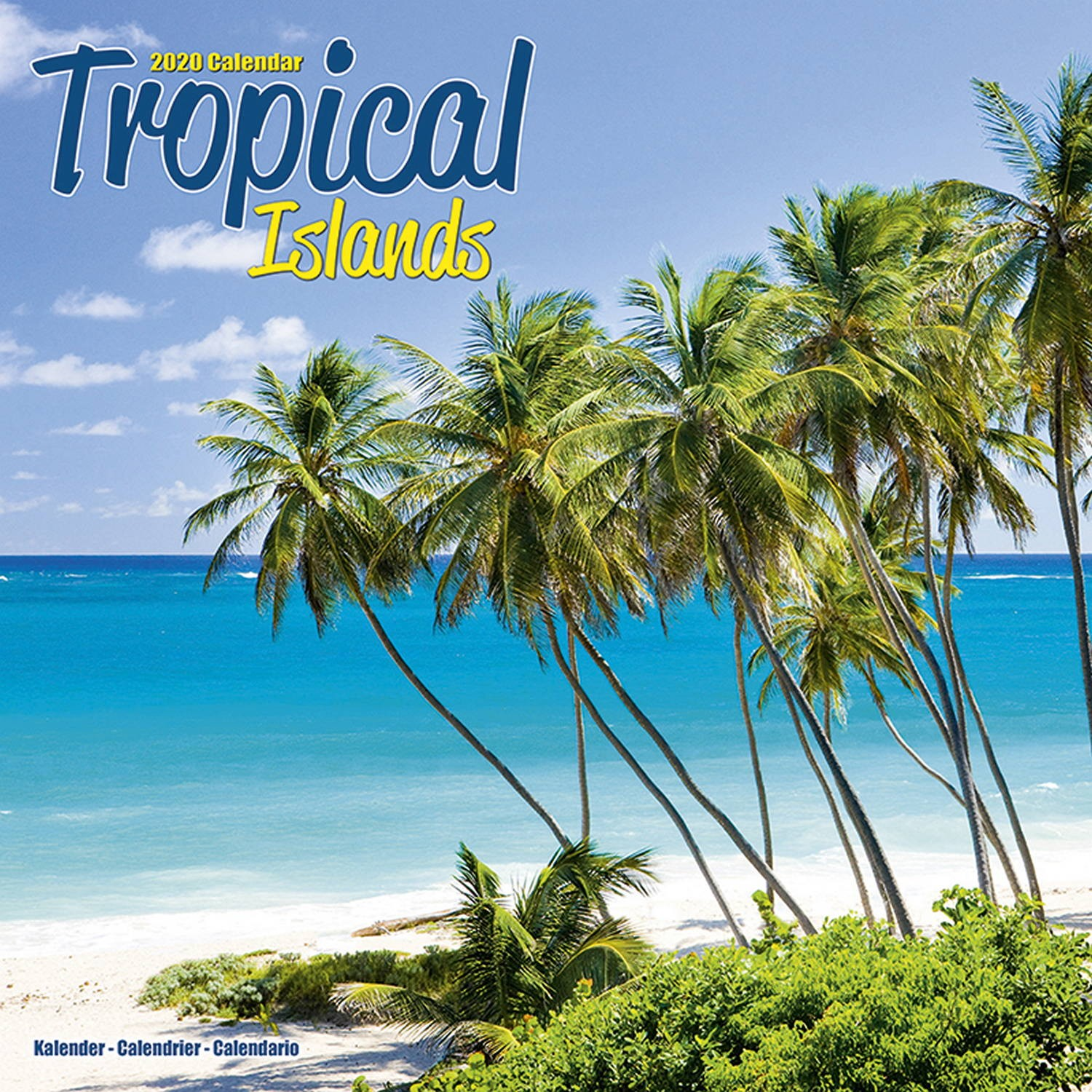 Tropical Islands Wall Calendar 2020