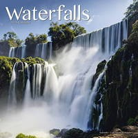 Waterfalls Wall Calendar 2020