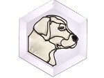 Yellow Lab Suncatcher by Pet Prints EW131Y