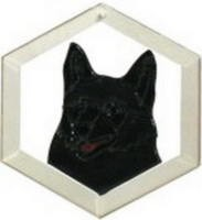 Schipperke Suncatcher by Pet Prints EW287