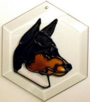 Basenji Suncatcher by Pet Prints EW132