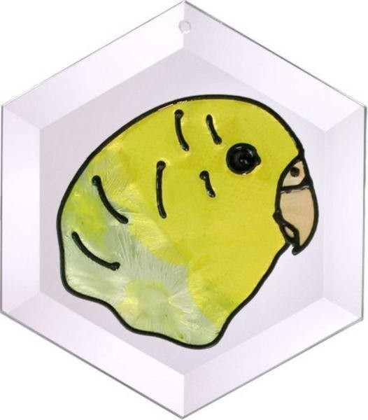 Budgerigar Suncatcher by Pet Prints EW055