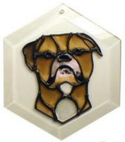 Bulldog - American Suncatcher by Pet Prints EW278