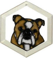 Bulldog - English Suncatcher by Pet Prints EW218