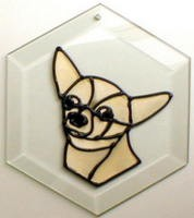 Chihuahua Suncatcher by Pet Prints EW244