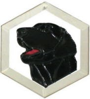 Flat Coated Retriever Suncatcher by Pet Prints EW189