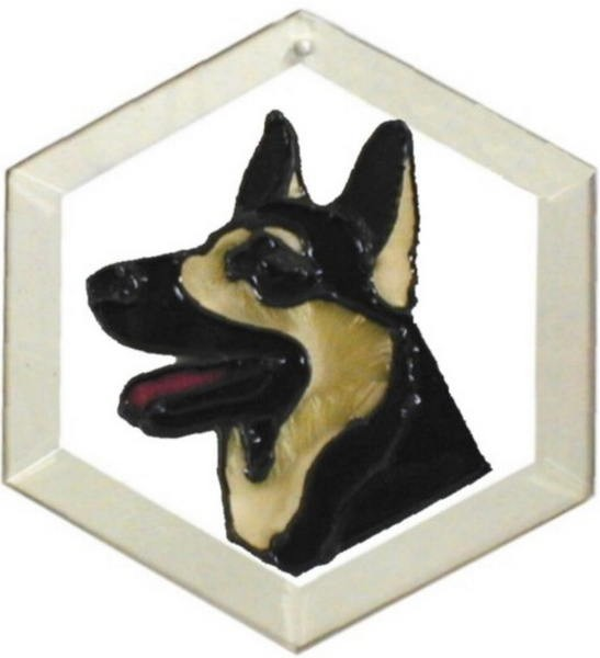 German Shepherd Suncatcher by Pet Prints EW118