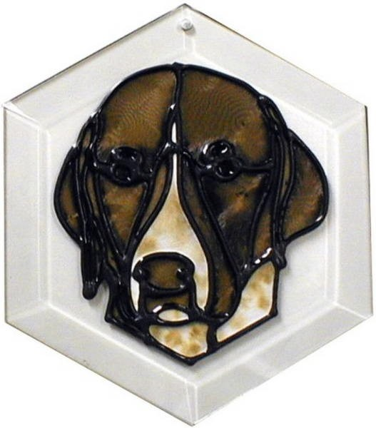 German Short Haired Pointer Suncatcher by Pet Prints EW245