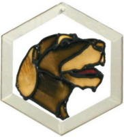 German Wire Haired Pointer Suncatcher by Pet Prints EW156