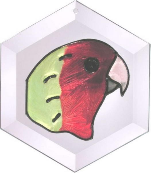 Lovebird Suncatcher by Pet Prints EW050