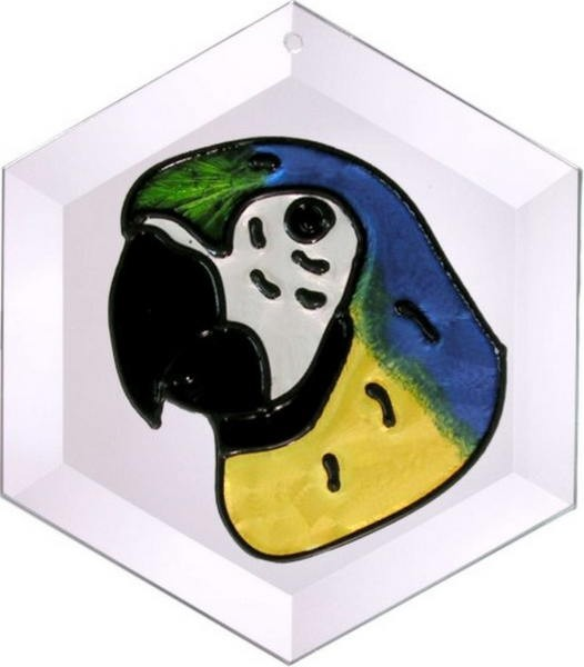 Macaw Suncatcher by Pet Prints EW076