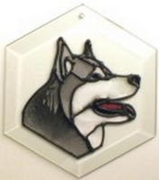 Malamute Suncatcher by Pet Prints EW240