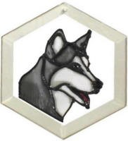 Siberian Husky Suncatcher by Pet Prints EW179