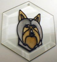 Silky Terrier Suncatcher by Pet Prints EW200