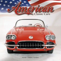 American Classic Cars Wall Calendar 2021 by Avonside
