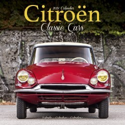 Citroen Classic Cars Wall Calendar 2021 by Avonside