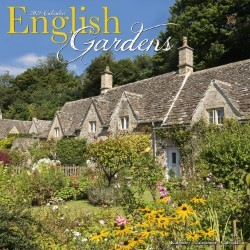 English Gardens Wall Calendar 2021 by Avonside