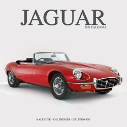 Jaguar Wall Calendar 2021 by Avonside