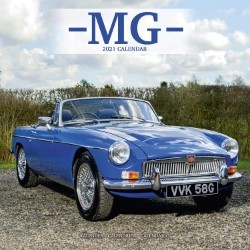 MG Wall Calendar 2021 by Avonside