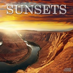 Sunsets Wall Calendar 2021 by Avonside