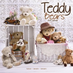Teddy Bears Wall Calendar 2021 by Avonside