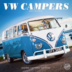 VW Campers Wall Calendar 2022